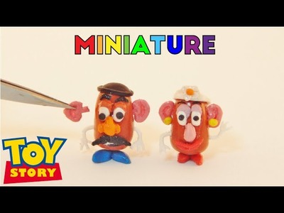 Mr. Potato Head & Mrs. Potato Head | Toy Story Miniature Room Box (1:12)