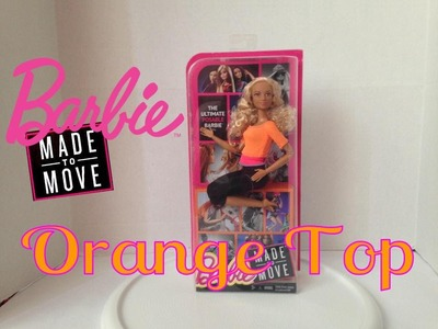 NEW! Barbie Made To Move Orange Top Review!