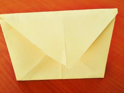 Origami Paper Handbag Shape Envelope|How to make a paper handbag|Origami Handbag instructions|