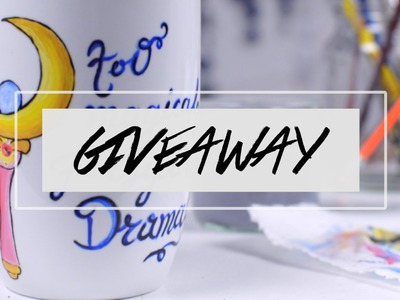 Paint a mug with me + GIVEAWAY (CLOSED)