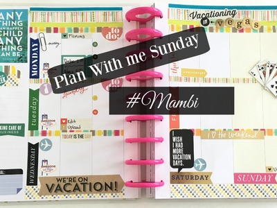 Plan With Me Sunday\\ feat. Me And My Big Ideas