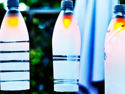 """Plastic Bottle Lamp"" | Hand Made Creativity | Easy Steps | By ASC Kids"