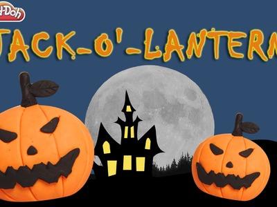 Play Doh Halloween Jack O'Lantern | Jack O'Lantern | How To Make A Halloween Jack O'Lantern