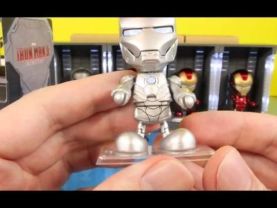 Play Doh Iron Man Surprise Egg Marvel Iron Man 3 Cosbaby Toys Light Up Lockers Disney Cars Toy Club