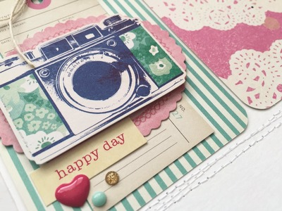 Scrap the Challenge with Kelly and Mari (#5): Birthday Wish