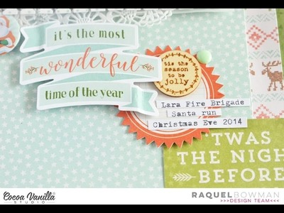 Scrapbooking Process - The Most Wonderful Time of