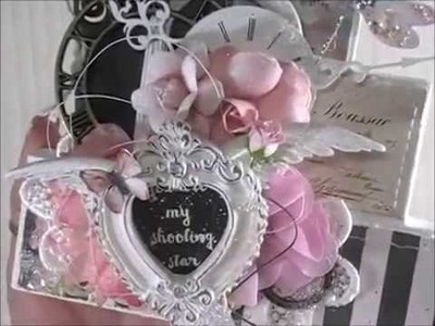 """Shabby Chic """"Set It On A Shelf"""" Decor (DT Project for Reneabouquets)"""