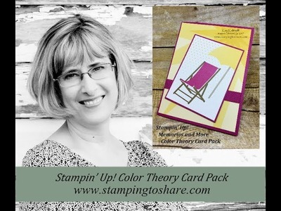 Stampin' Up! Color Theory Memories and More Card Pack