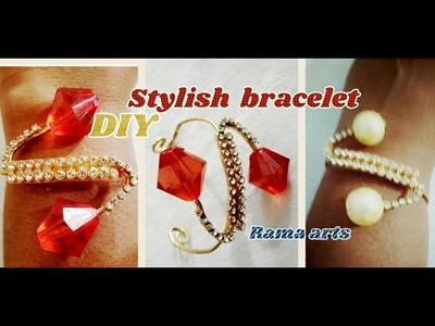 Stylish bracelet - Easy to make | jewellery tutorials
