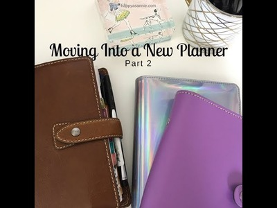 Switching Planners: Moving Into a New Filofax.Recollections Planner (Part 2)
