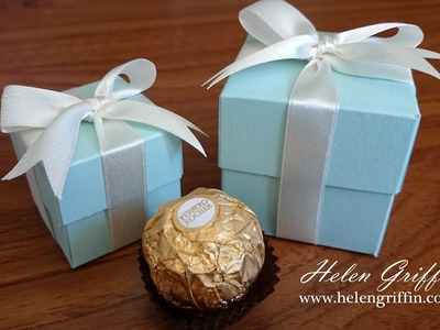 Tiffany Inspired Wedding Gift Box Tutorial With Perfect Bow
