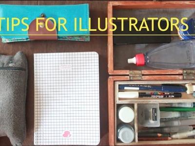 Watercolor Markers DIY - 3 Tips for illustrators #2 | Fefê Torquato