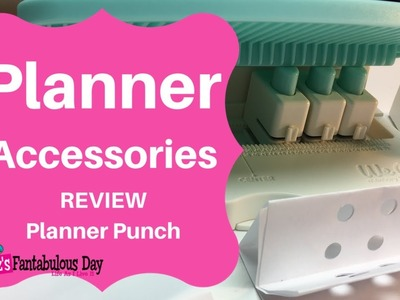We R Memory Keepers Planner Punch Board Review, How to use the  We Are Memory Keepers Punch