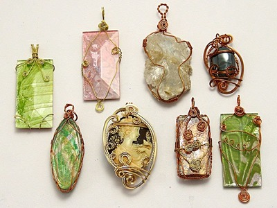What is Wire Wrapping?? with Barb and Clausman - HowToGetCreative.com