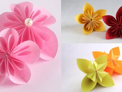 3 ways to make Kusudama Flower