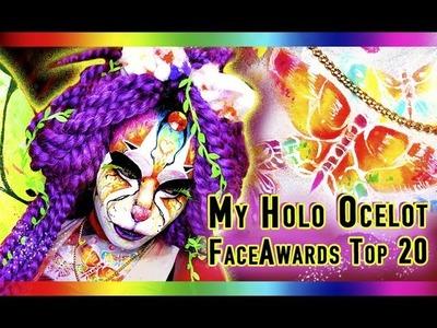 Animal kingdom 90s Uv Holographic Watercolor Rainbow Ocelot Top 20 NYX faceawards 2017 HeirOfGlee