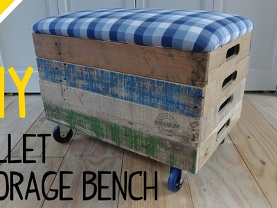 Build a Stackable Pallet Crate Storage Bench - Part 1 of 2