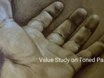 Cheap Joe's Extended 2 Minute Art Tip -  Value Studies on Toned Paper