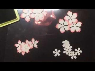 CottageCutz dies and Flower making with Anita Kejriwal