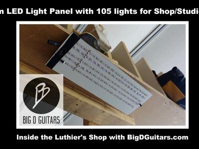 Custom LED Light Panel for Shop Studio Work DIY lamp kit Shop Light