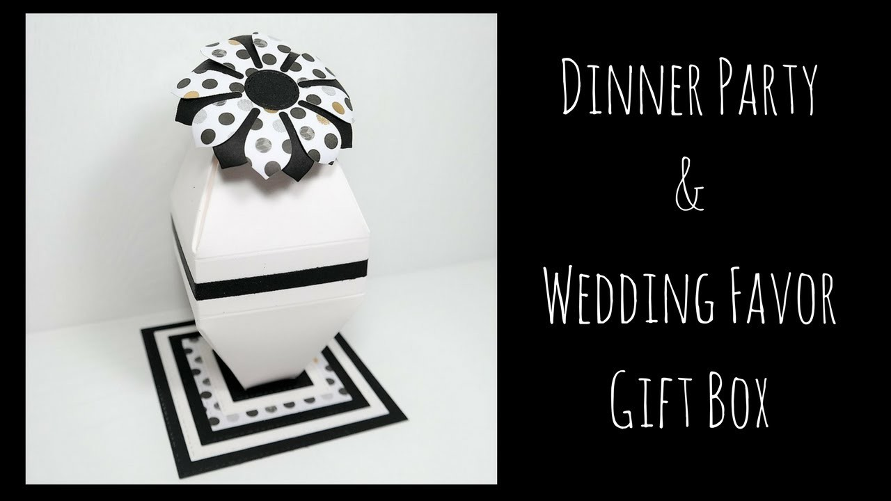 Dinner Party or Wedding Favor Gift | Video Tutorial