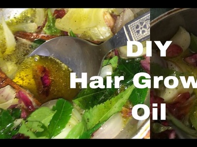 DIY Best Affordable Hair Growth Oil using natural ingredients