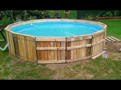 DIY Build a Pool Made from Pallets - Important Tips and Practical Ideas
