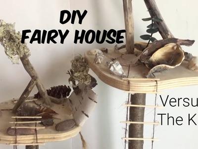 DIY BUILD YOUR OWN FAIRY HOUSE VS. THE KIT