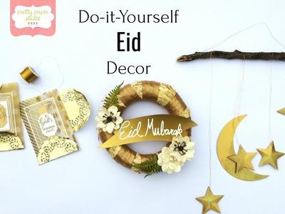 DIY Easy Eid Decorations | Pretty Paper Studio