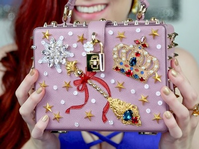 Dolce & Gabbana Unboxing! $4,000 Miss Dolce Fairy Tale Crown Embellished Handbag | Lilith Louise