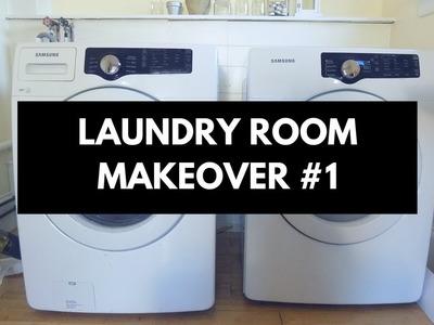 Dollar Tree DIY - Laundry Room Makeover #1