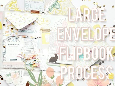 Easter.Spring Envelope Flipbook | Spring Mail Ideas ????????????