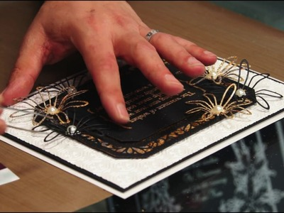 EP6: Brackets Collection with Sticky Embossing Powder and Gilding Flakes