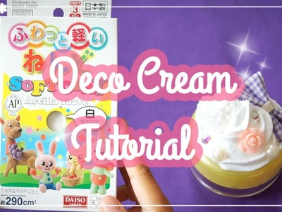 FAKE WHIPPED CREAM TUTORIAL for DECODEN