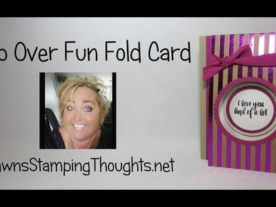 Flap Over Fun Fold card