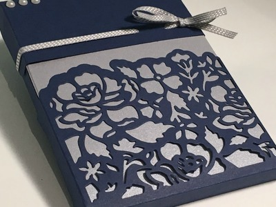 Floral Thinlets Card Set Gift Box - Video Tutorial with Stampin' Up products.