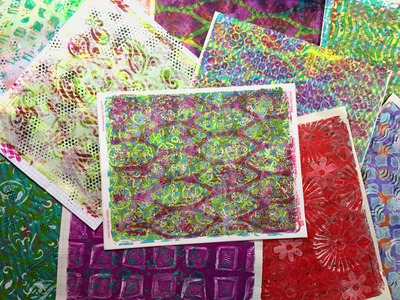 Gelli® Printing Basics - Part 2 of 2