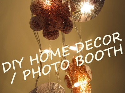 Glitter Fall Home Decor   Photo Booth
