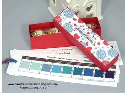 Handmade GIFT BOX for Ferrero Rocher - SandraR UK Stampin' Up! Demonstrator Independent