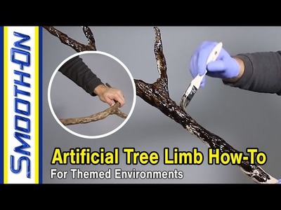 How To Create an Artificial Tree Limb for Theming Applications