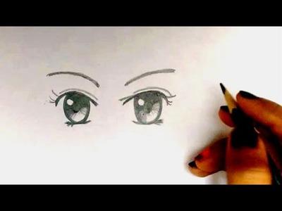 How to draw- Manga Eyes