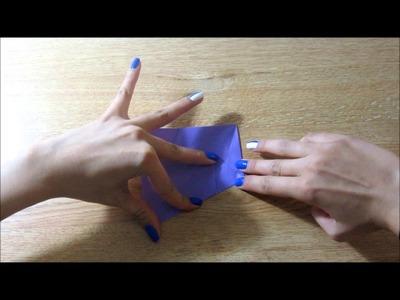 How to fold an origami Dominanta Star