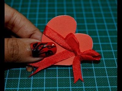 How to Make a Heart Shaped Card ???? ????