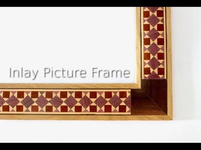How To Make A Inlay Picture Frame