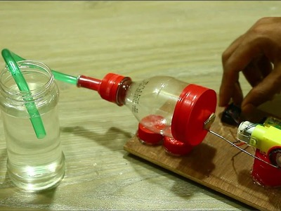 How to make air compressor at home using plastic bottle