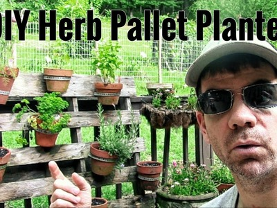 How To Make An Herb Garden OUT OF PALLETS - Super Easy DIY Pallet Herb Planter
