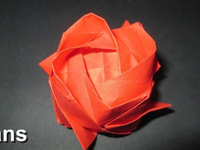 How To Make an Origami Rose Complete instructions