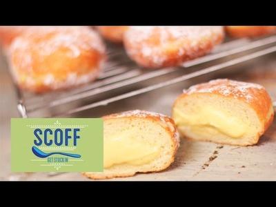 How To Make Custard Filled Doughnuts | Keep Calm and Bake 11