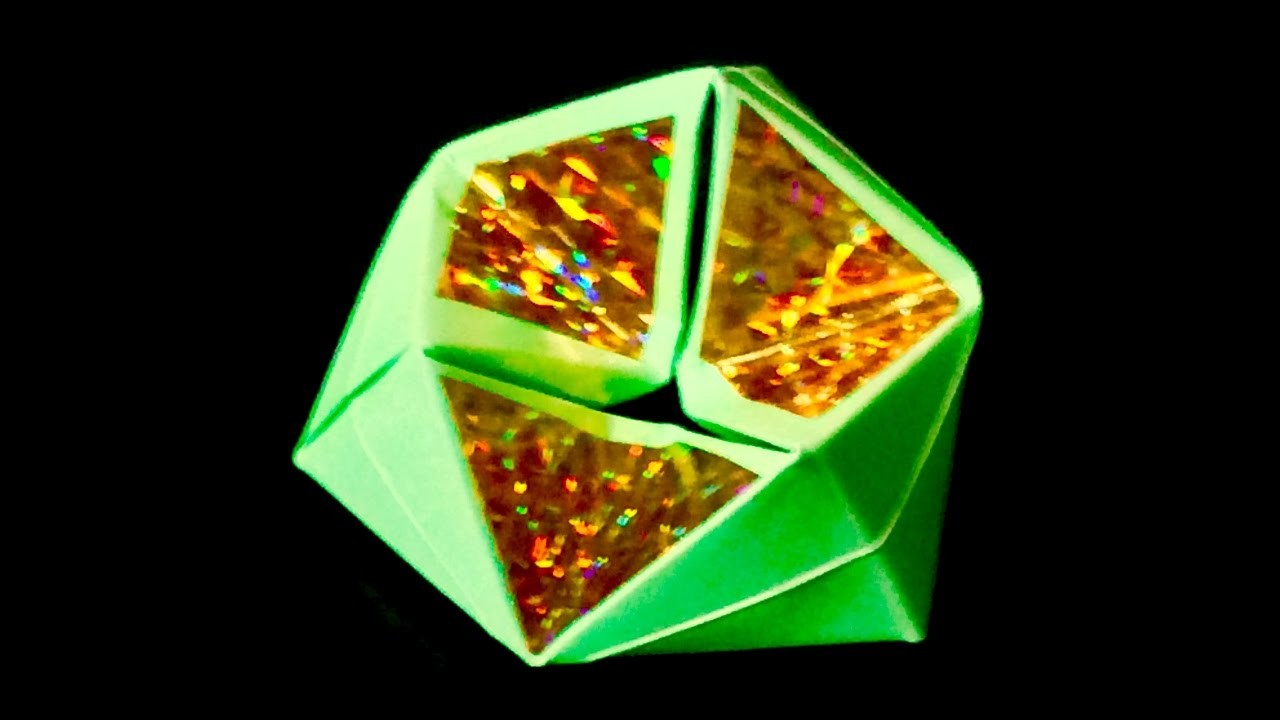 How to make Origami FLEXAGON
