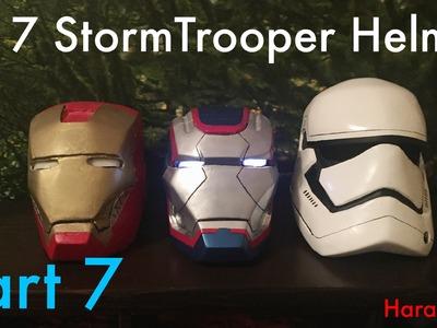 How To - Star Wars Ep 7 StormTrooper Helmet - Part 7